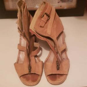 Beautiful tan sandals (bought from Aldo)